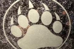 47 - Bear Paw Print
